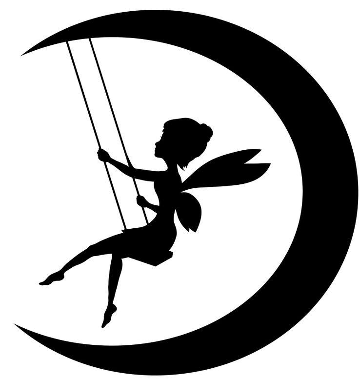 736x777 Fairy Clip Art, Silhouette Clip Art, Fairy Silhouette , Instant