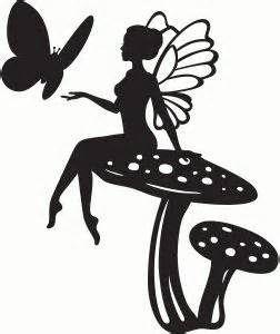 252x300 Michaels Fairy Silhouette