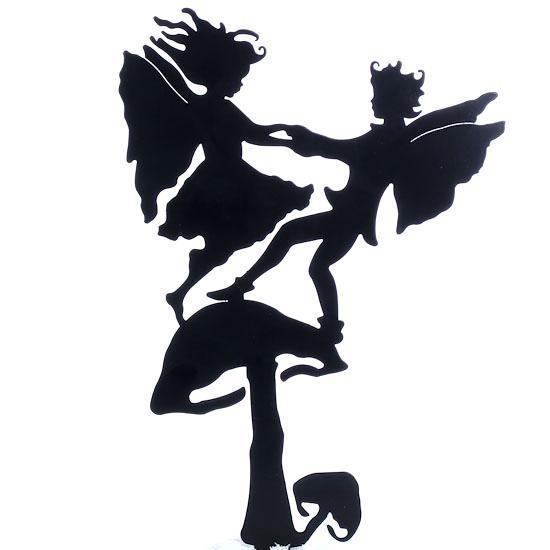 550x550 Fairy Silhouette Garden Fairy Cutouts Garden Of Life Prenatal