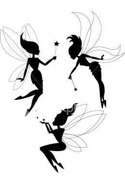 258x380 Fairy Silhouettes Fairy Silhouettes Fairy