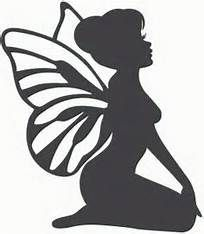 204x234 Image Result For Sitting Fairy Silhouette Draws