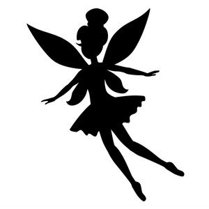 300x300 30 Best Fairies Images On Fairy Silhouette, Silhouette