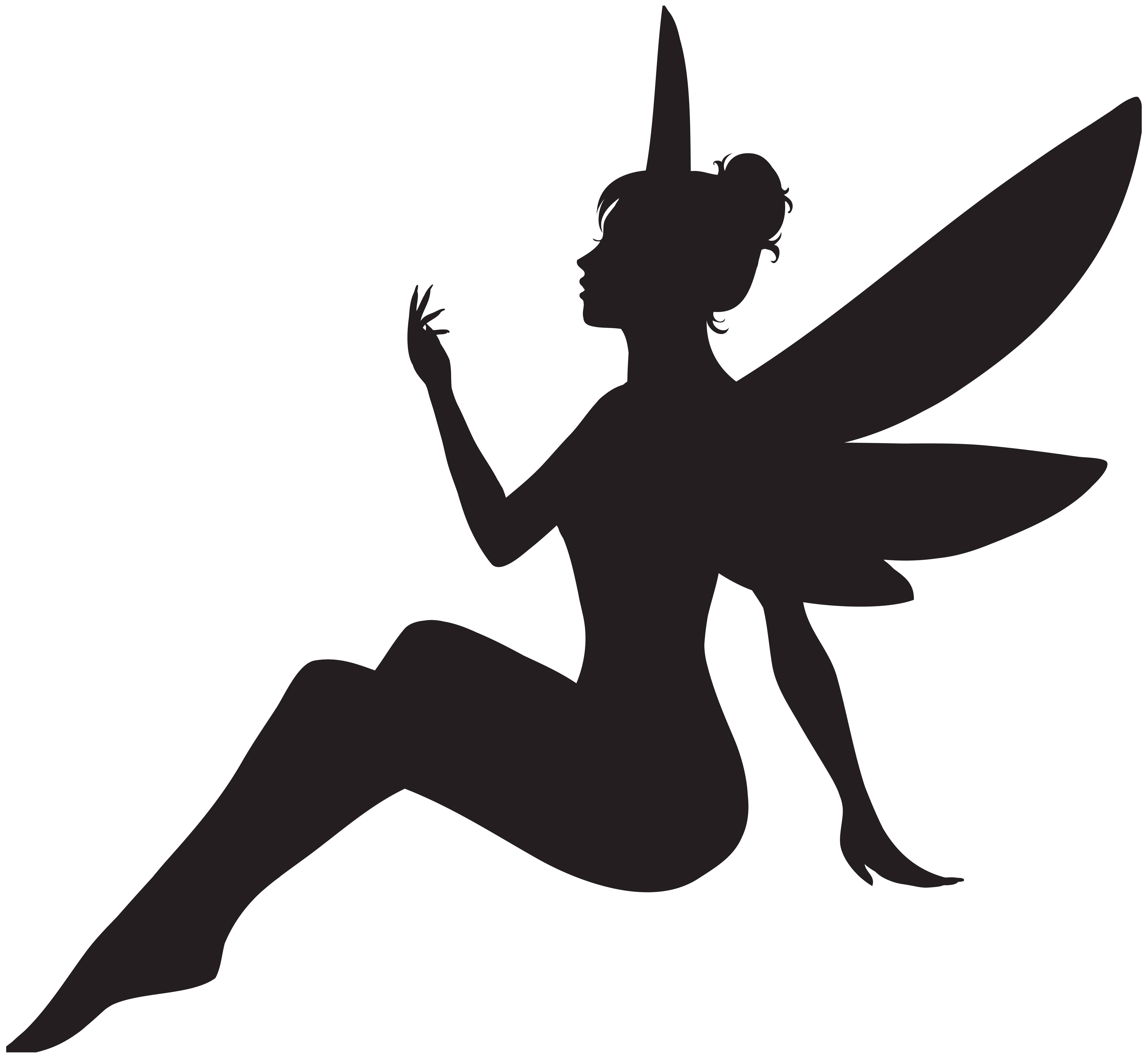 8000x7371 Fairy Silhouette Png Clip Art Imageu200b Gallery Yopriceville