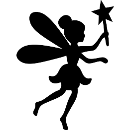 263x262 New Silhouettes Fairy, Falcon, Feather, And More