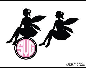 340x270 Fairy Dxf Etsy