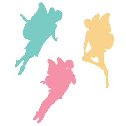 432x432 Fairy Silhouettes Svg Cutting Files Fairy Svg Cut Files Fairy Svg