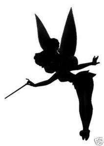 Tinkerbell Silhouette Stencil At Getdrawings Free Download