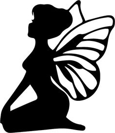 236x273 Fairy With Wings Fairy, Fairy Silhouette And Silhouettes