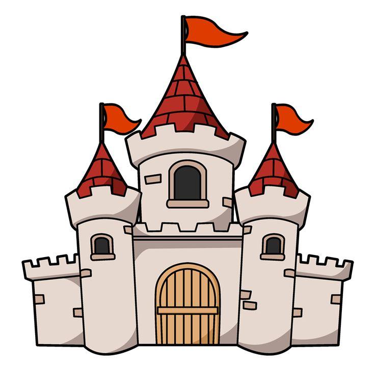 736x723 Fairy Tale Clipart Moat