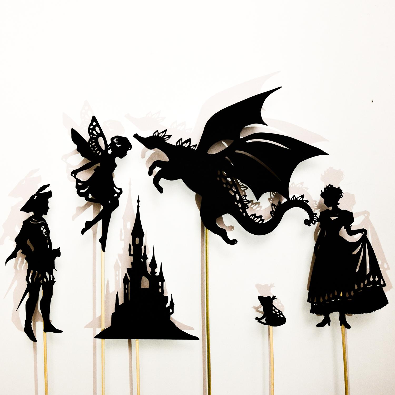 1500x1500 Make A Fairy Tale Shadow Puppet Set