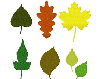 340x270 Leaf Silhouette Etsy