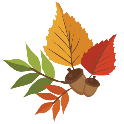 432x432 Autumn Leaves Svg Scrapbook Cut File Cute Clipart Files