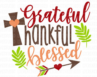 340x270 Thankful And Blessed Svg Fall Svg Autumn Svg Thanksgiving
