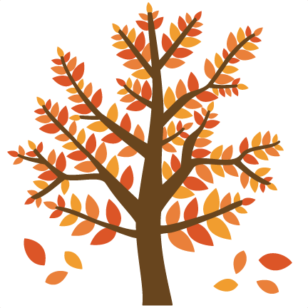 432x432 Fall Tree Svg Falling In To Fall Fall Trees, Svg