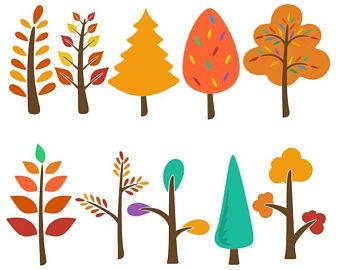 340x270 Fall Tree Svg Etsy
