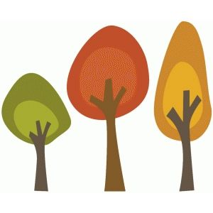 300x300 Fall Trees Sarah Bailey, Fall Trees And Silhouette Design