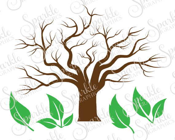 570x456 Family Tree Cut File Tree Leaves Leaf Fall Svg Autumn Spring