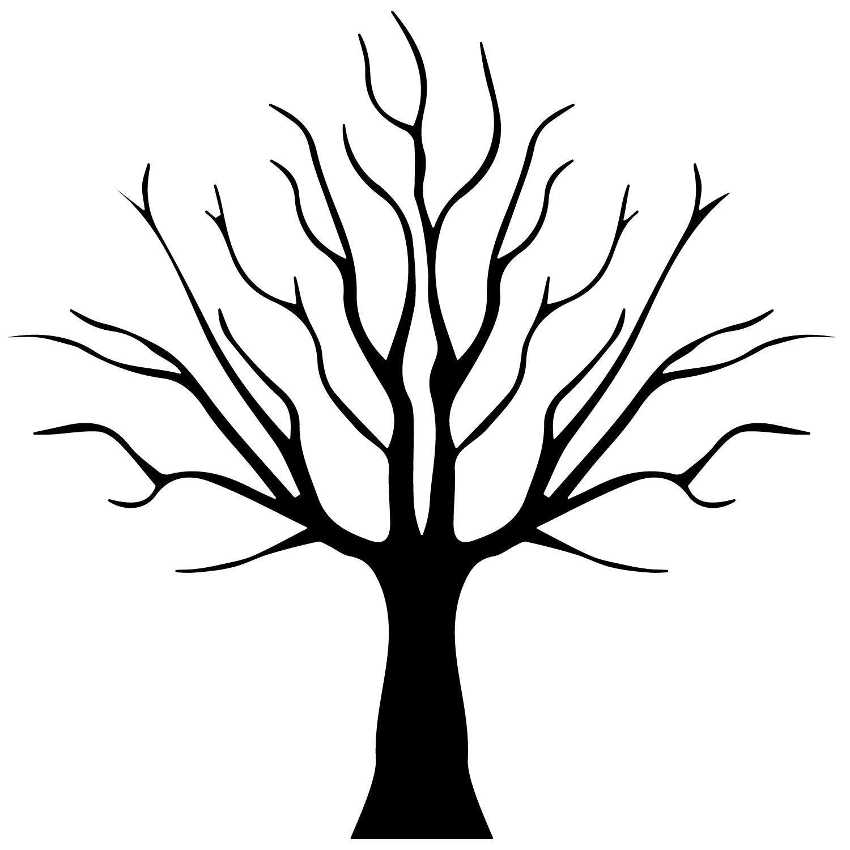 1500x1500 Bare Tree (Version 4) Tattoo Products