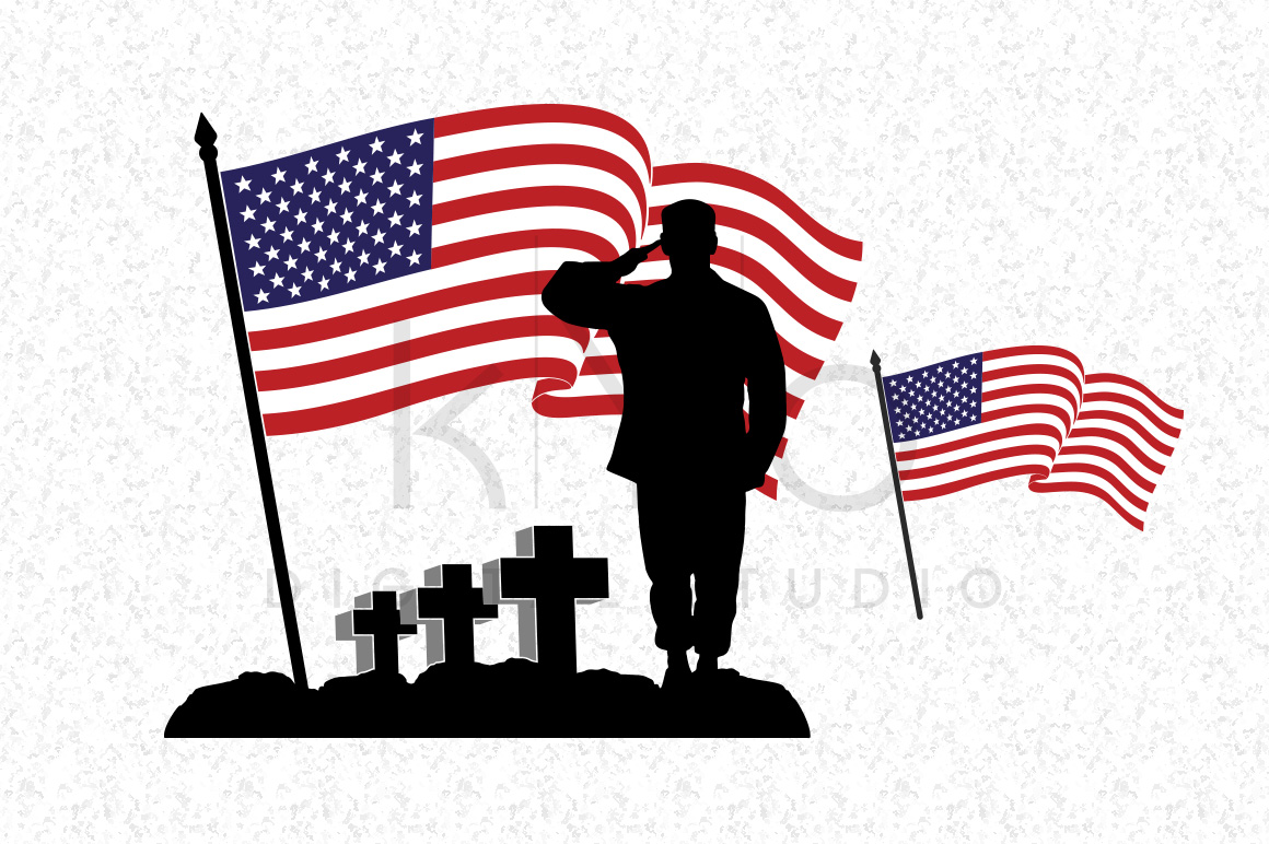 1160x772 Fallen Soldier Veterans Day Svg Dxf Png Eps Files By Kyo Digital