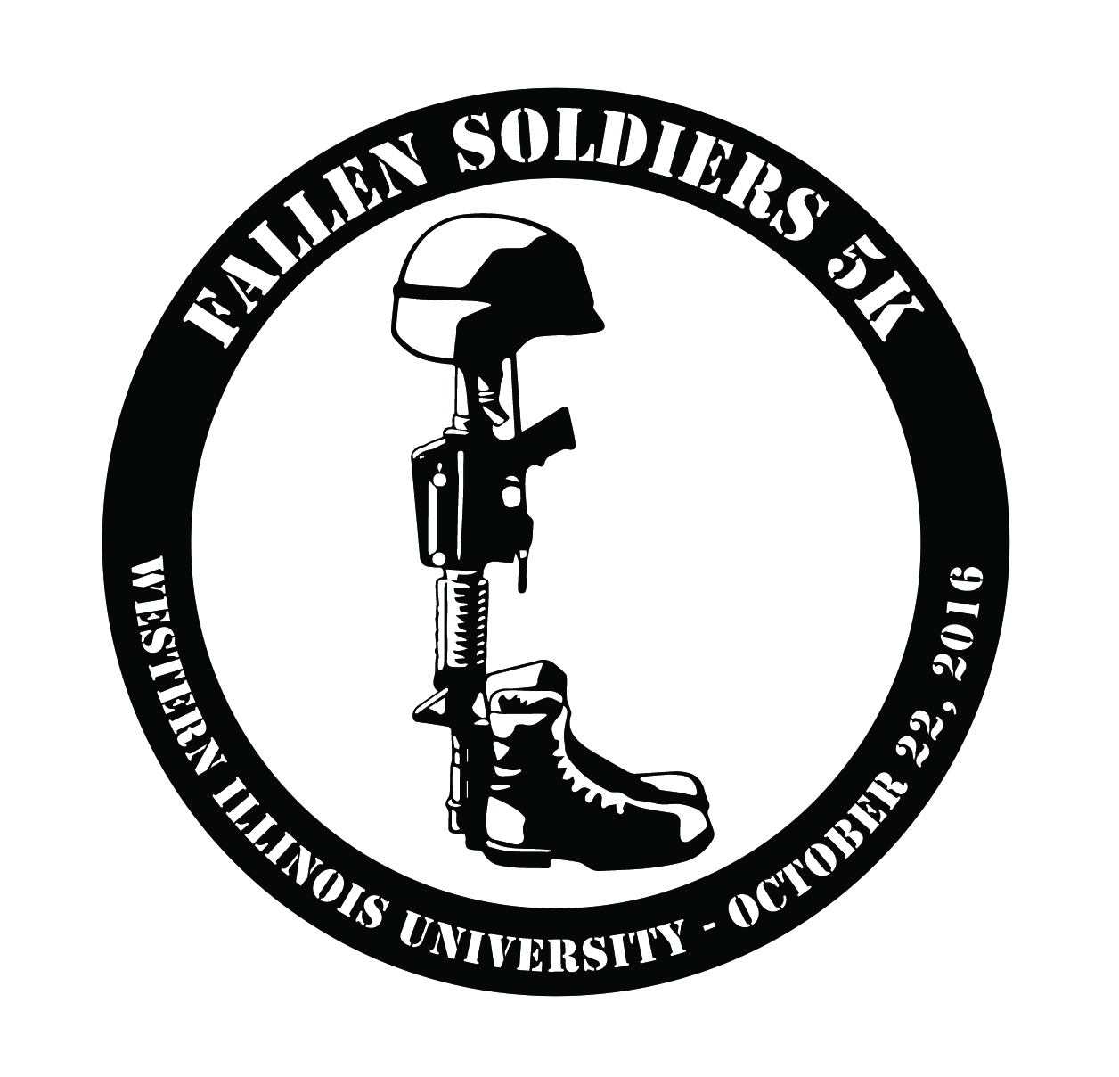Fallen Soldier Memorial Silhouette At Getdrawingscom Free For