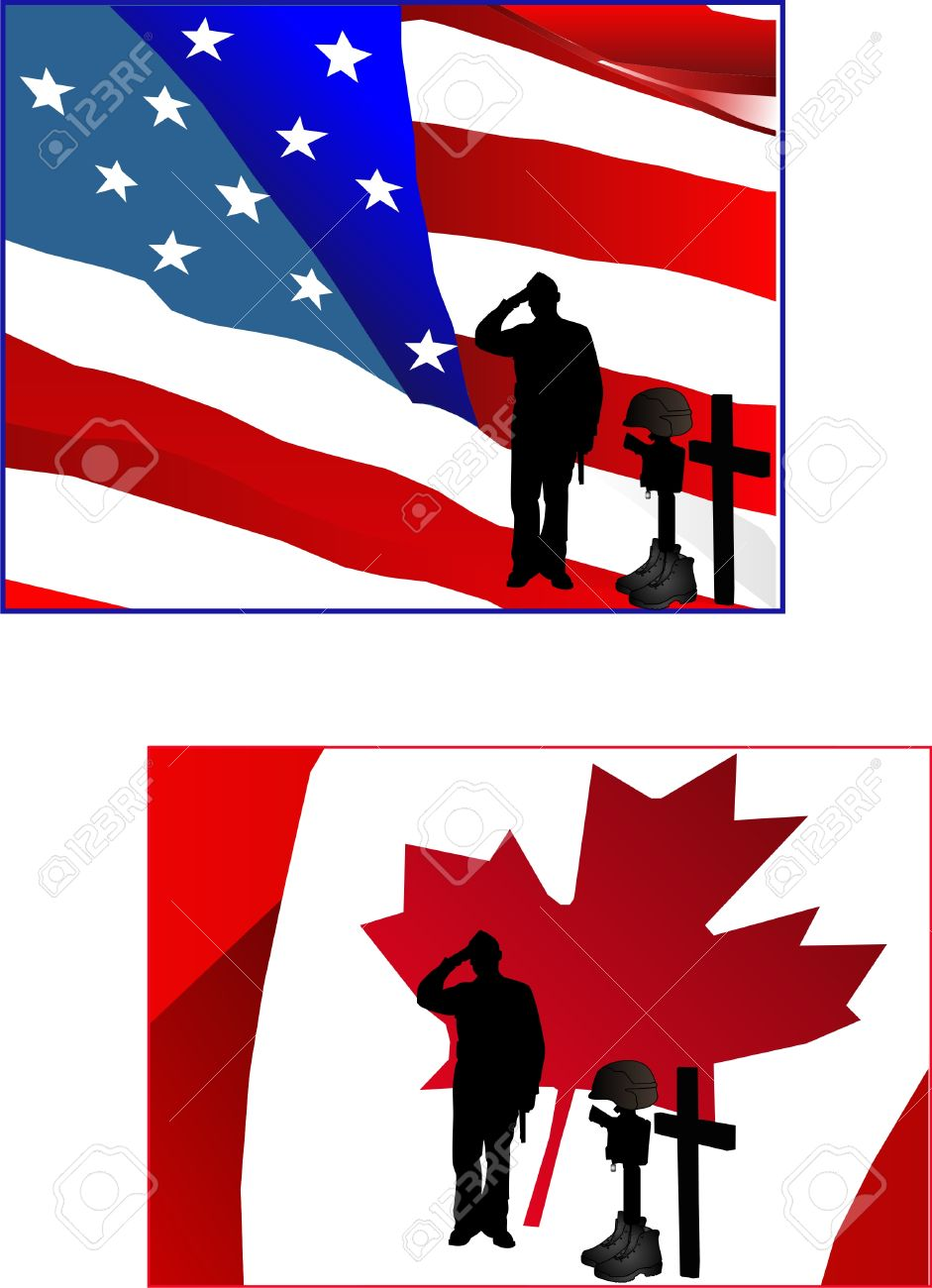 941x1300 Fallen Soldiers Clipart Collection