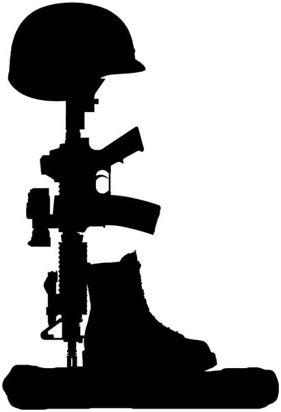 410x600 Items Similar To Fallen Soldier Vinyl Decal. 6 Yr Life. Great
