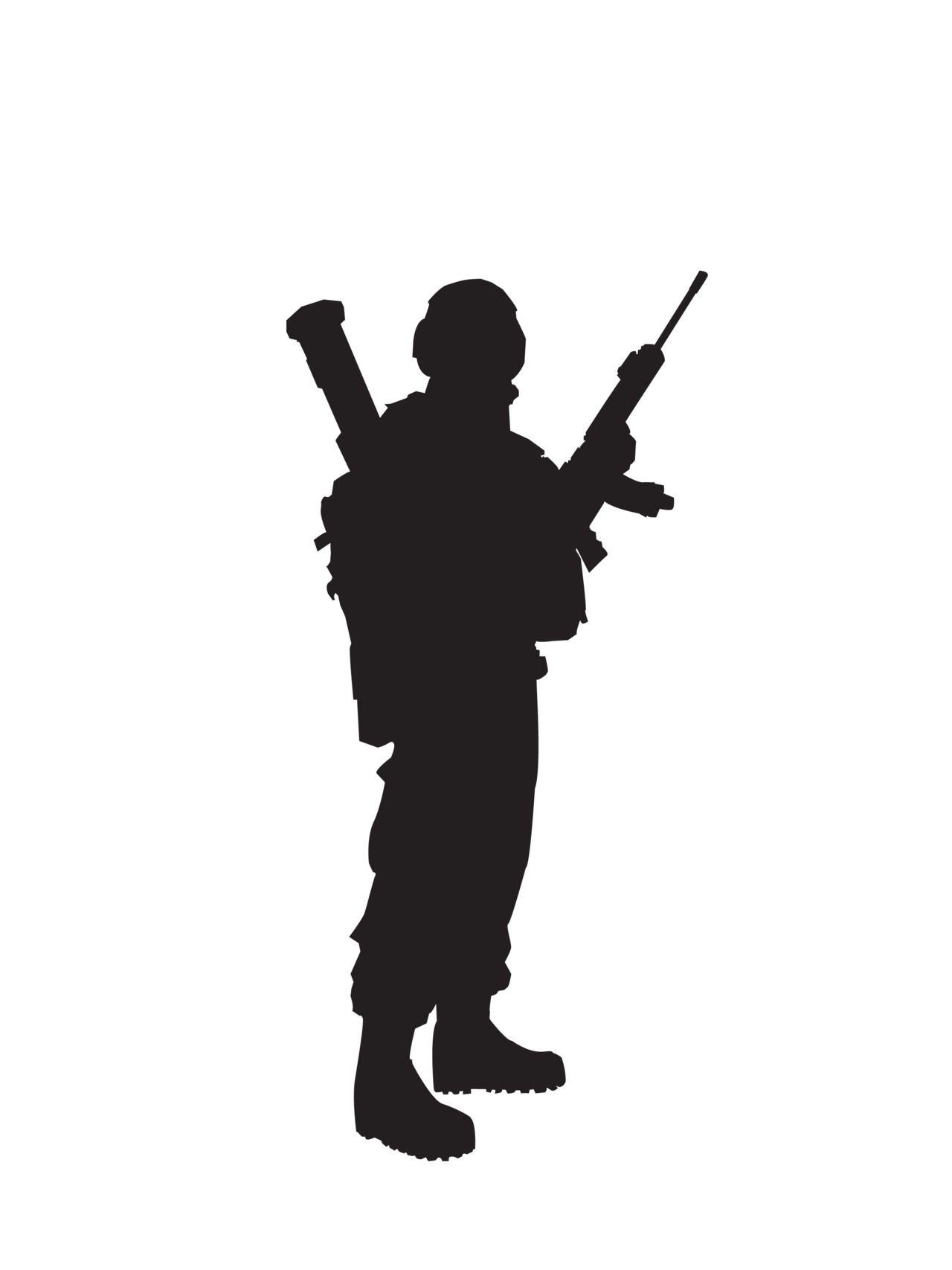 1280x1707 Soldier Silhouette. Semper Fi Soldier Silhouette