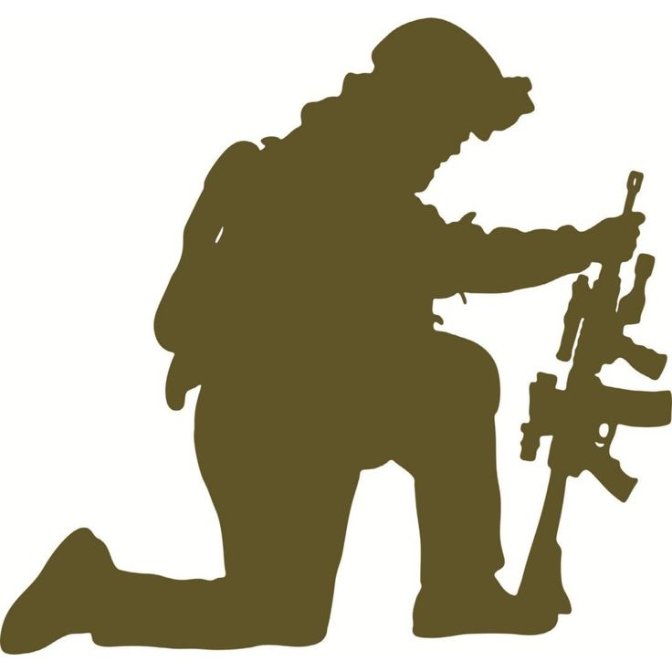 736x736 Army Silhouettes And Outlines Free Vector Images