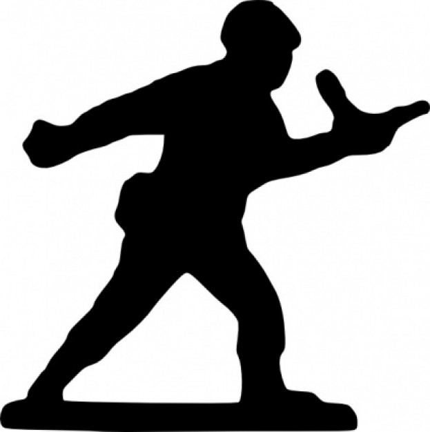 623x626 Soldier Clipart Silhouette