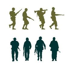 236x236 Silhouette Soldier