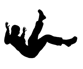 273x228 Photo Vector Image Of Male Falling
