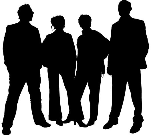 528x472 Family People Silhouettes Free Vector In Adobe Illustrator Ai