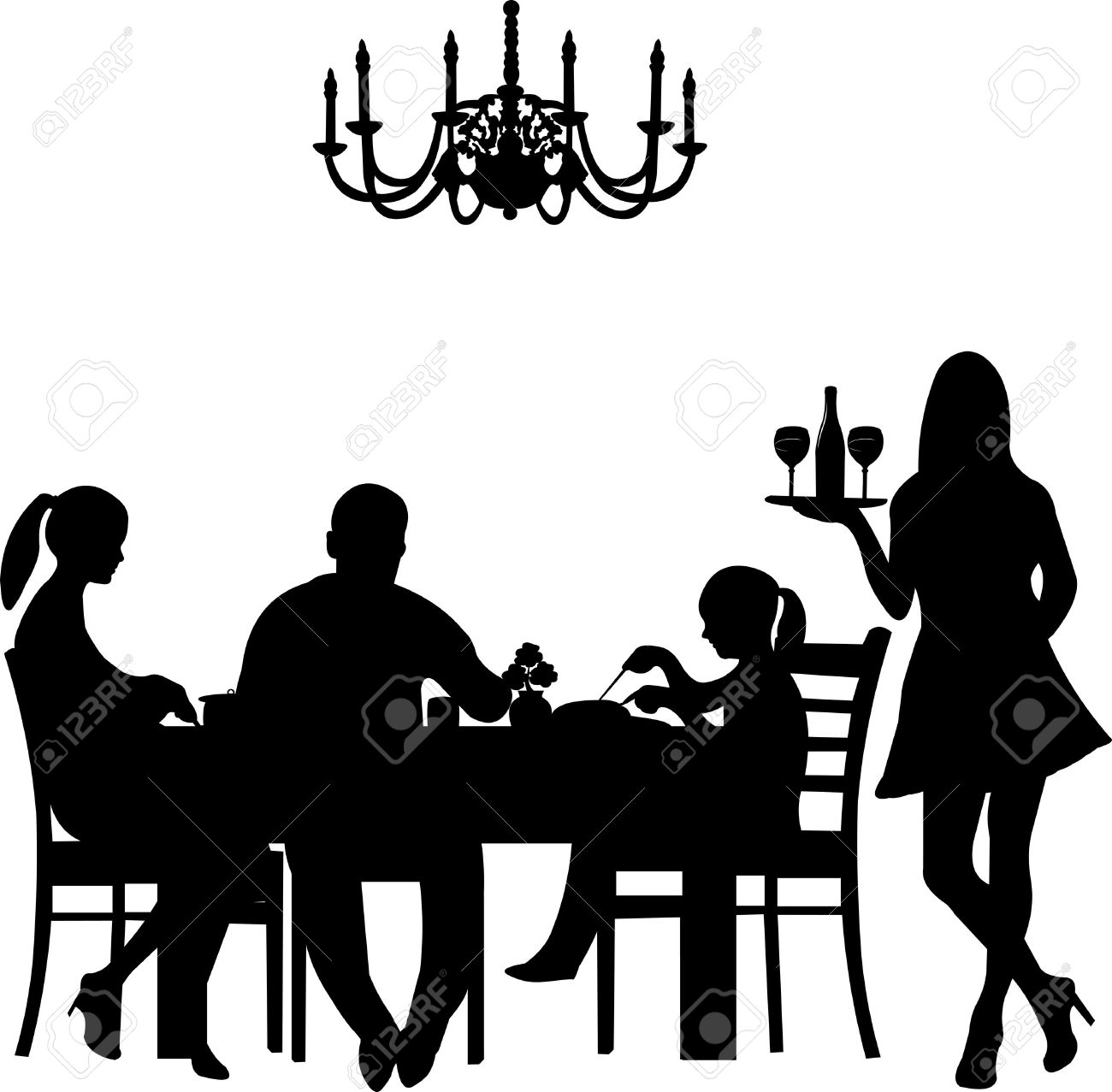 1300x1277 Cafeteria Clipart Family Lunch