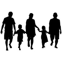 200x200 Education Educate Educating Silhouette Silhouettes Father Fathers
