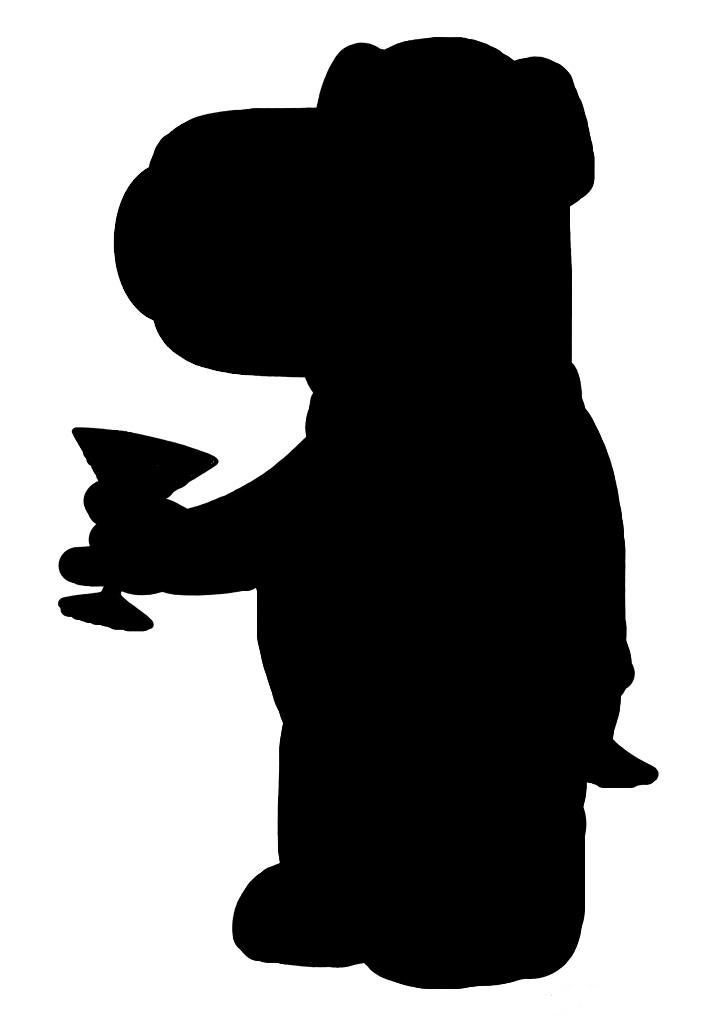 714x1024 Brian Griffin Silhouette By Chiken Poxx