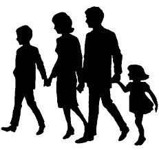 231x218 Happy Silhouette Happy Family Silhouette Graphics SILHOUETTES