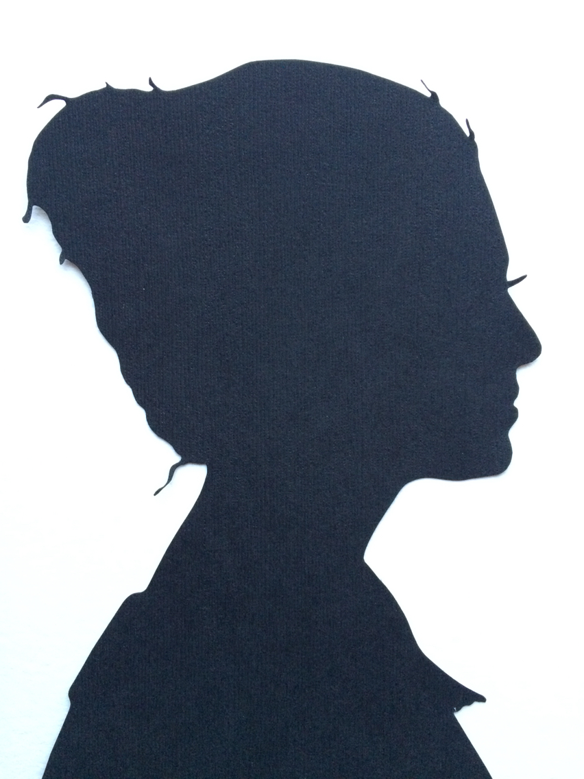 852x1136 Family Silhouettes By Elle Custom Family Portraits