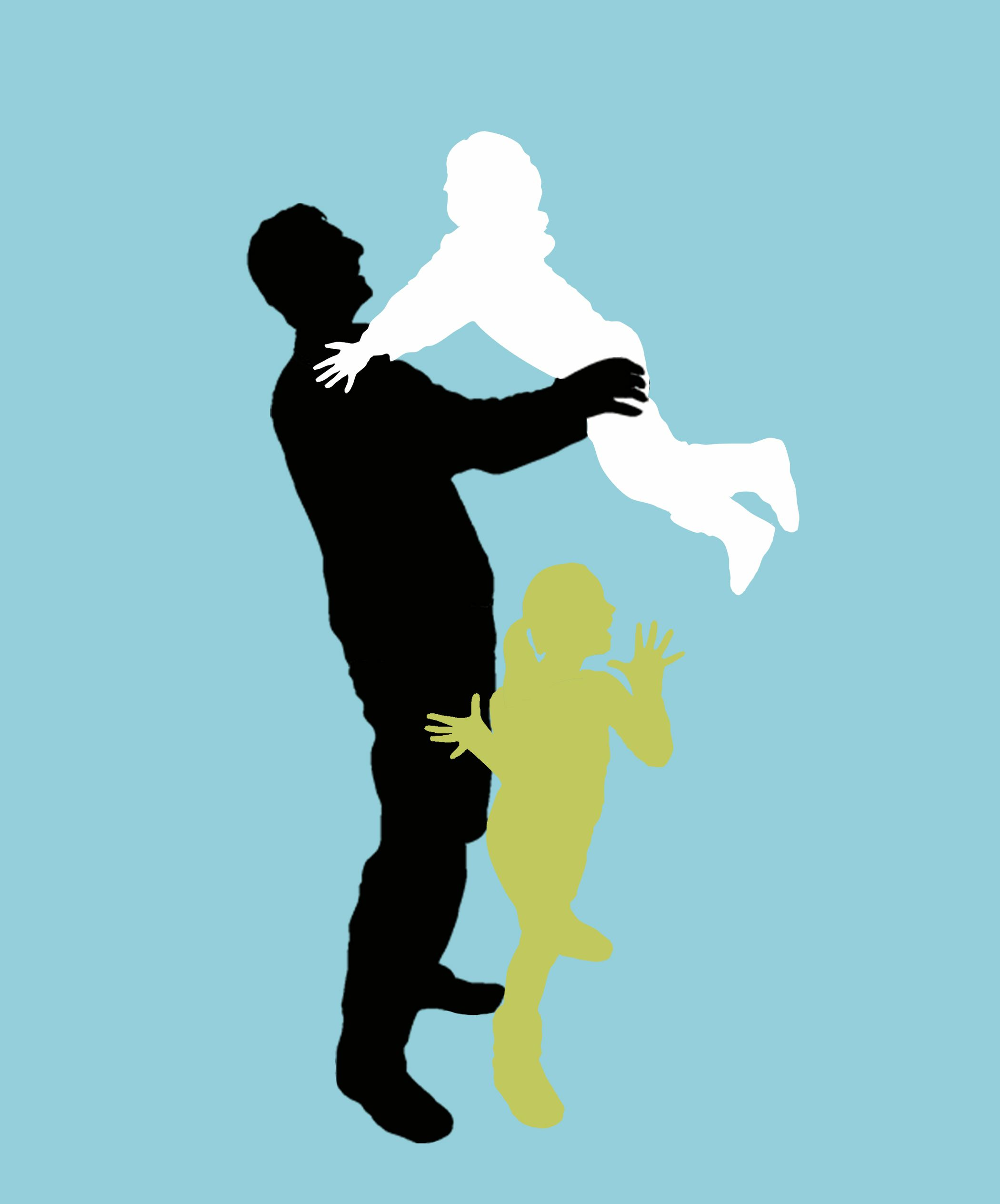 2100x2527 Gift Idea.family Portrait Silhouette