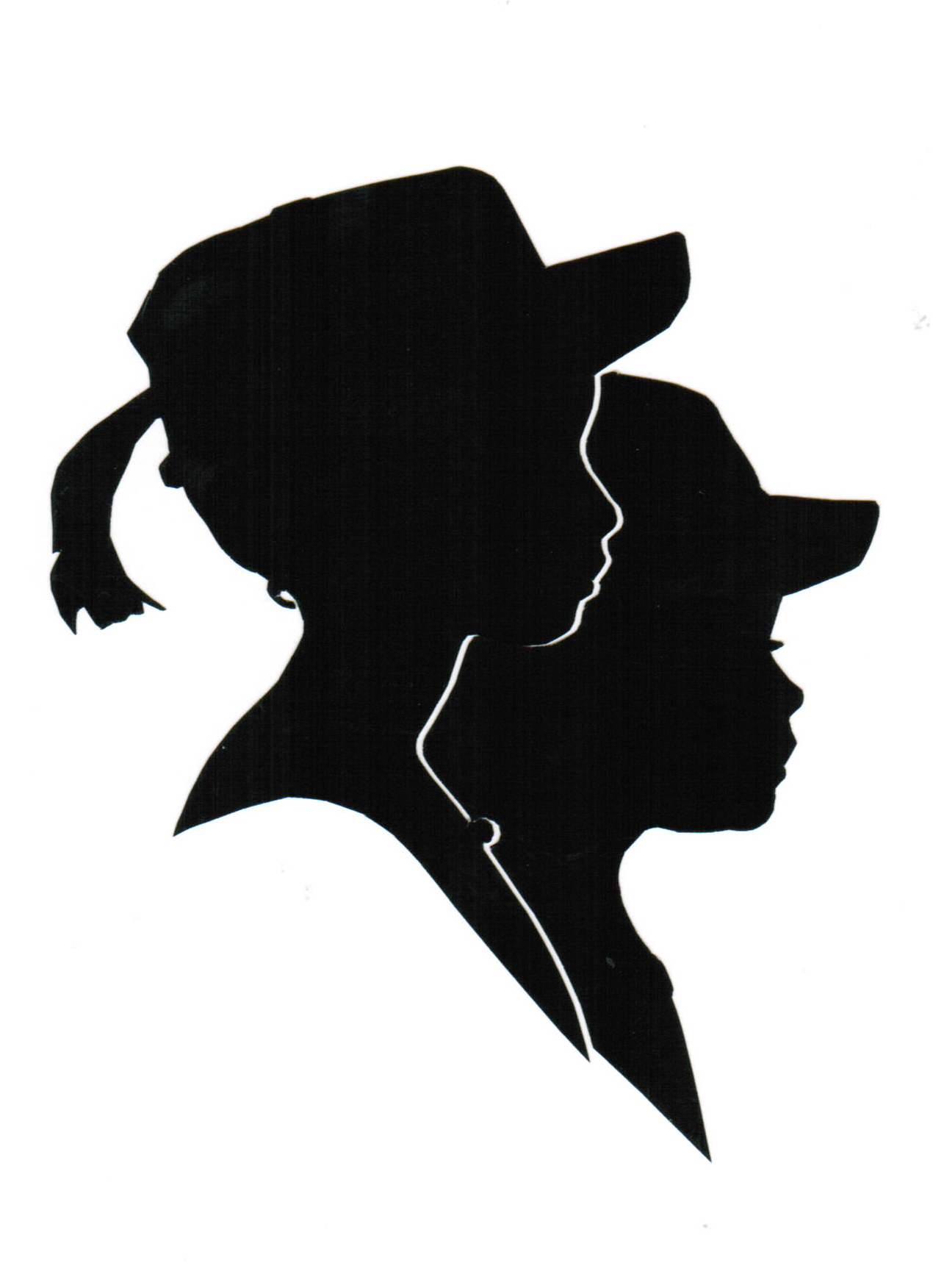 1270x1752 Silhouette Portraits By Edwarddouble Silhouettes