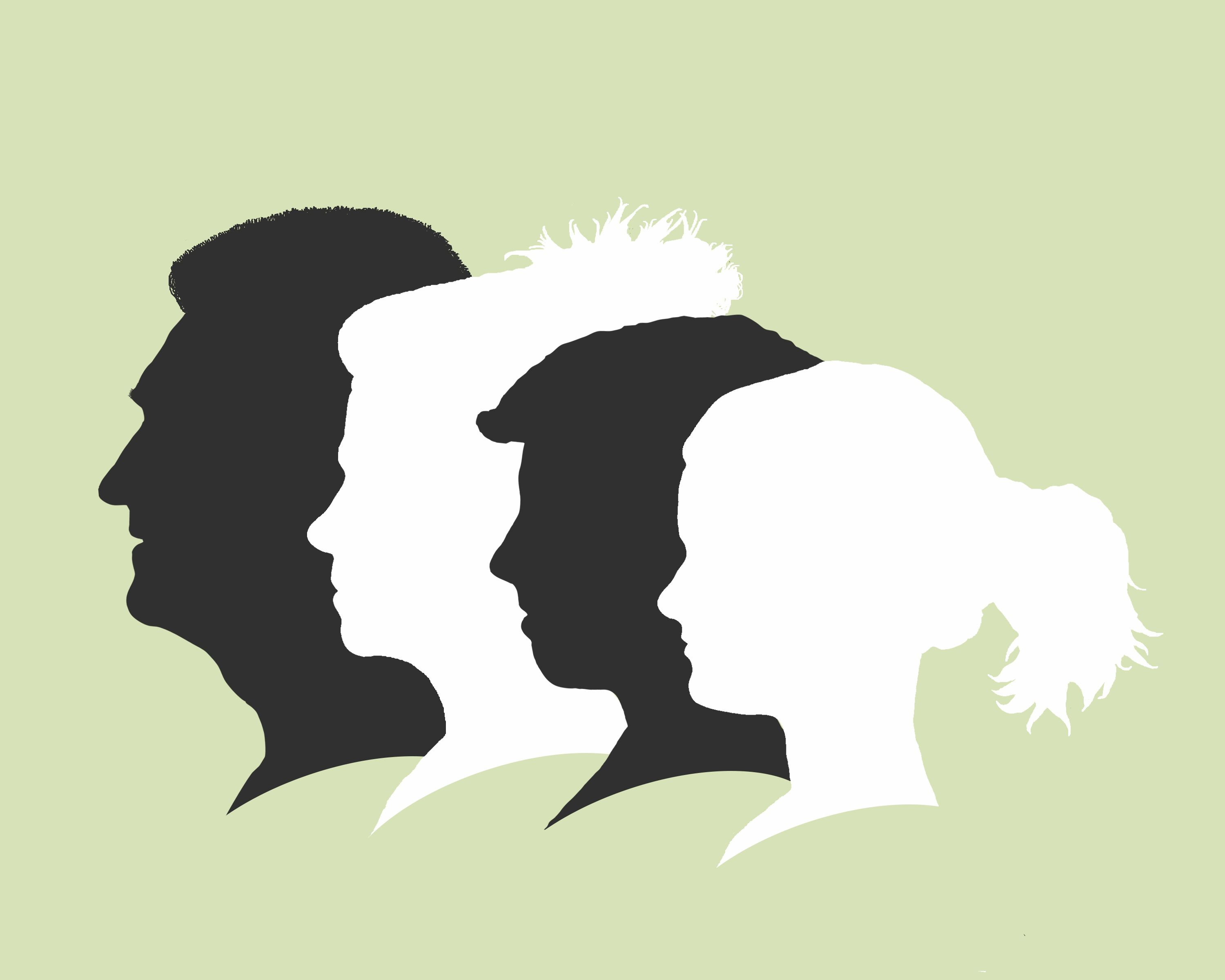 3000x2400 Would love to make one for my family Family silhouette portrait