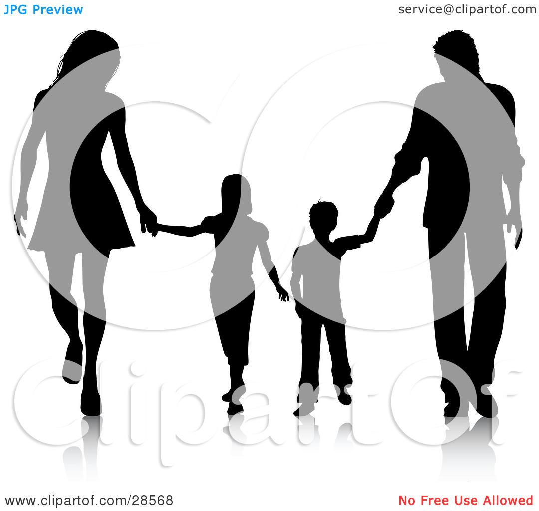 1080x1024 Family Silhouette Clip Art Clipart Panda