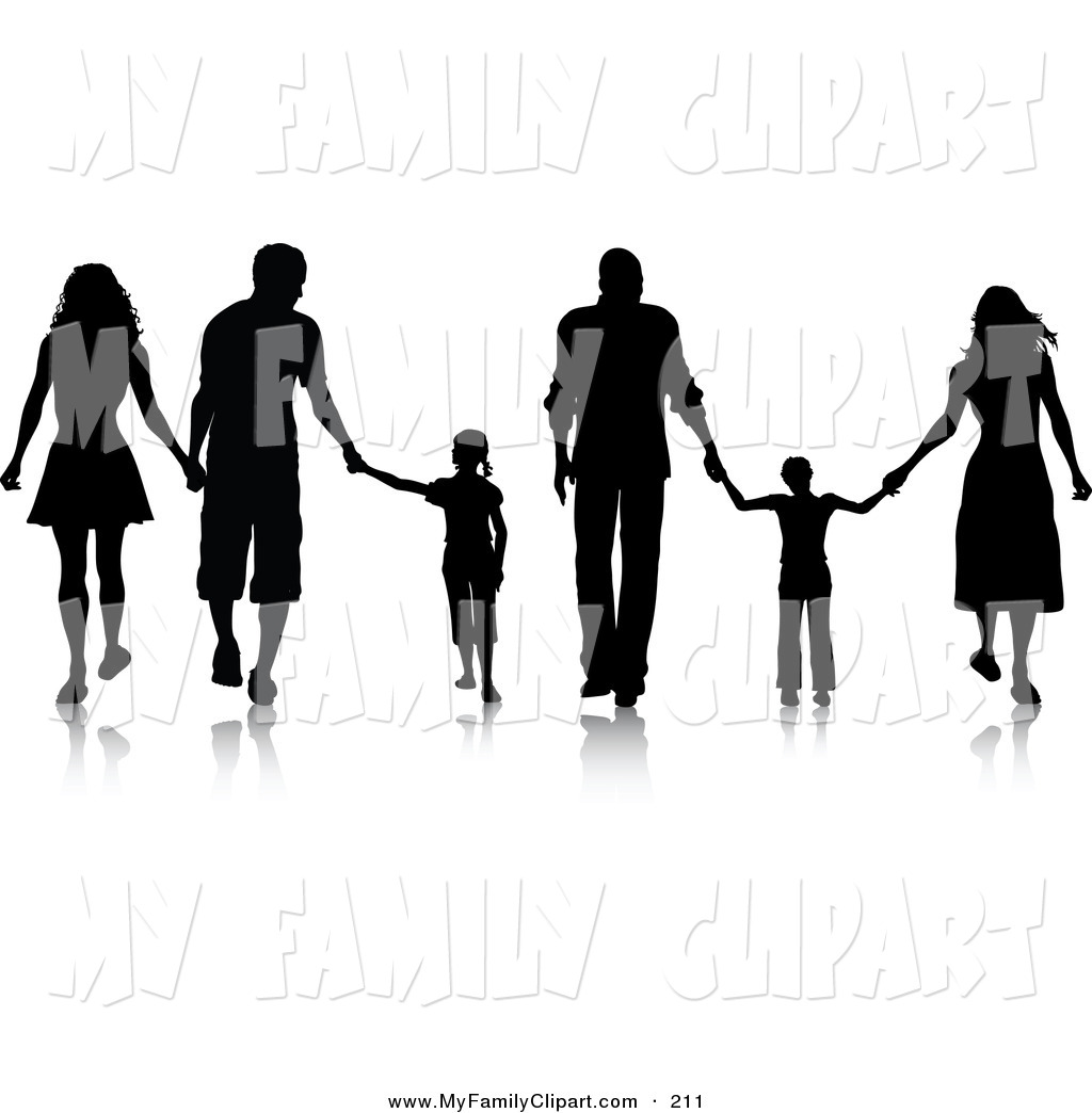 1024x1044 Family Silhouette Clip Art Clipart Panda