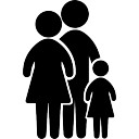 128x128 Family Silhouette Vectors, Photos And Psd Files Free Download