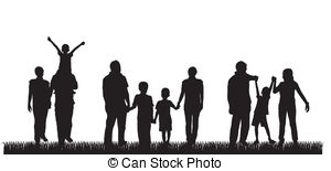 300x155 Silhouette Family Illustrations And Clipart. 45,640 Silhouette