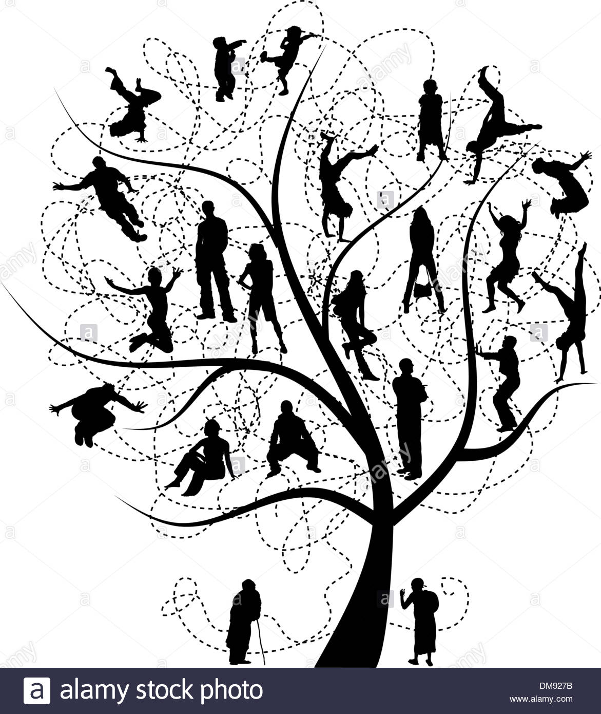 1171x1390 Family Tree, Relatives Stock Vector Art Amp Illustration, Vector