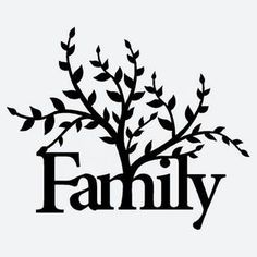 236x236 Split Family Tree Svg Cutting File Cutting Files, Family Trees