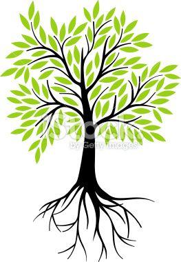 263x380 Decorative Tree Roots, Vector Art And Art Illustrations