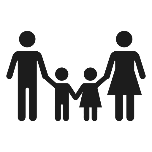 512x512 Family With Two Children Icon