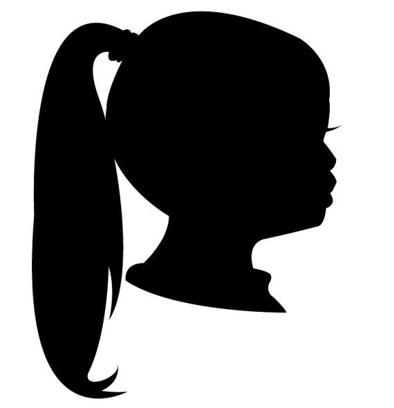 570x590 Custom Family Vector Silhouette Face Profile Silhouette Face