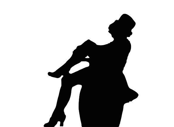 595x433 Marlene Dietrich, Fashion, Beauty, Cinema, Film, Cine, Silhouette